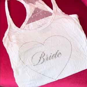 Bride 💍 Bling Tank Top